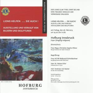 Lions Club Tyrol Hofburg 2015 001